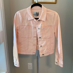 NewTristan pink jean jacket